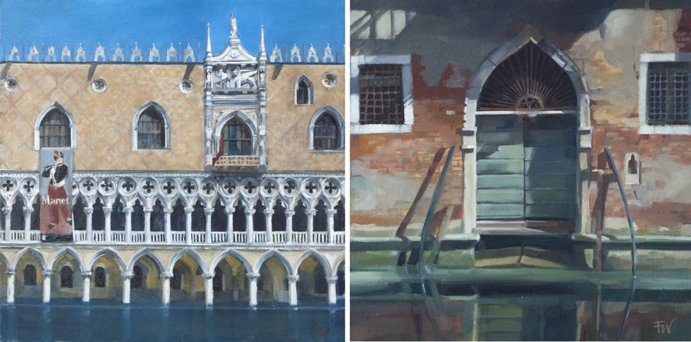 Paintings of Venice by Fiona Wilson