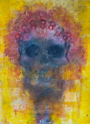 Amarillo Skull