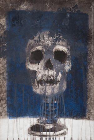 Pedestal Skull