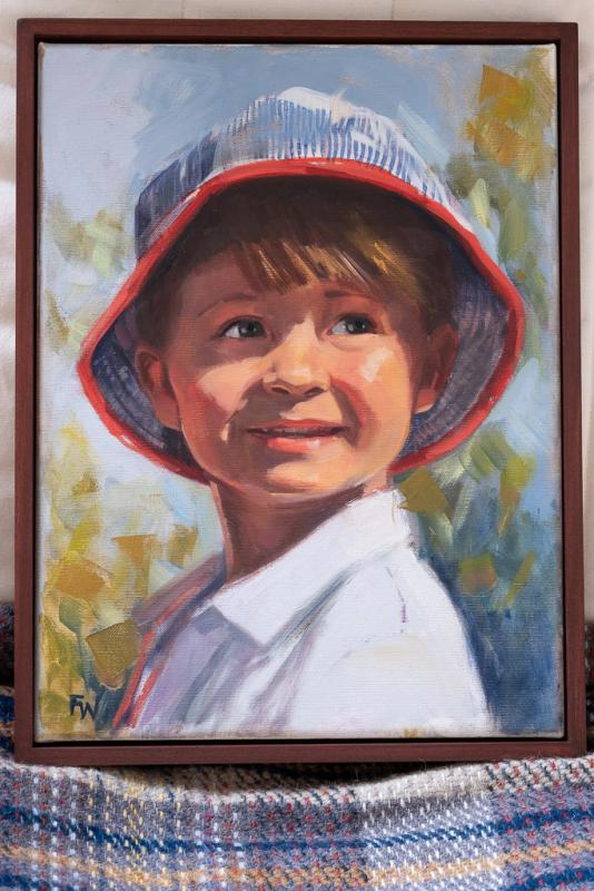Children Portrait Commission Lynsey 1