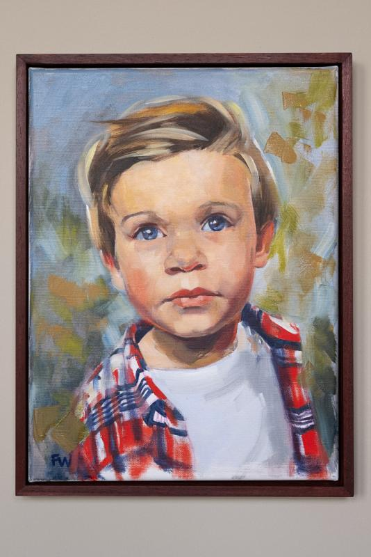 Children Portrait Commission Lynsey 2