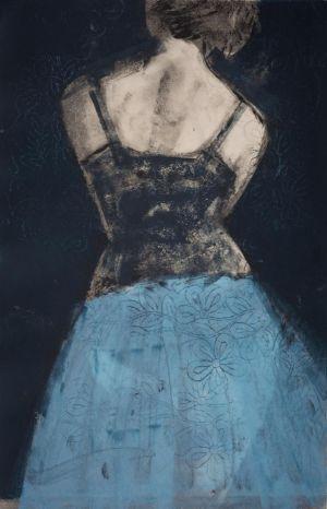 Net Petticoat Blue