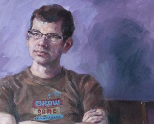 BP Portrait of Trevor Wilson by Fiona Wilson Artist