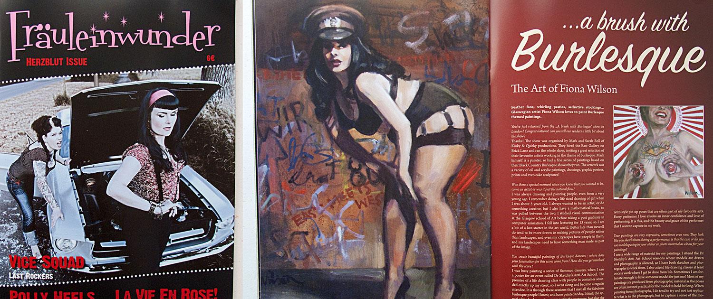 Fräuleinwunder Magazine Spreads
