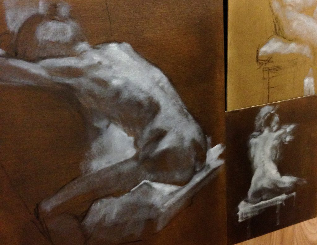 Life Painting Atelier - grisaille