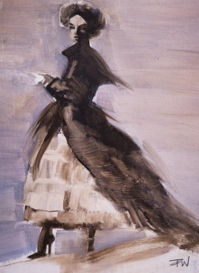 Bird Woman Study