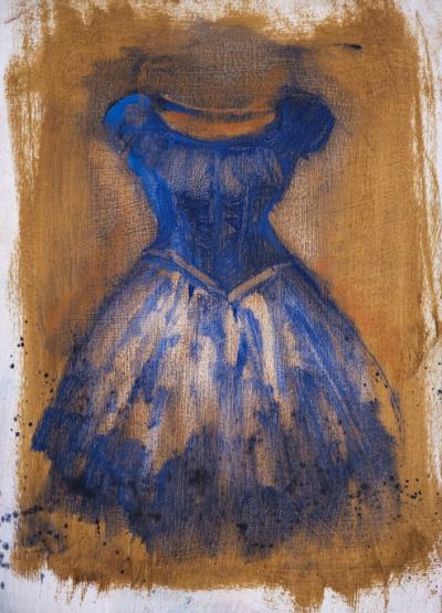 Blue Dress Study