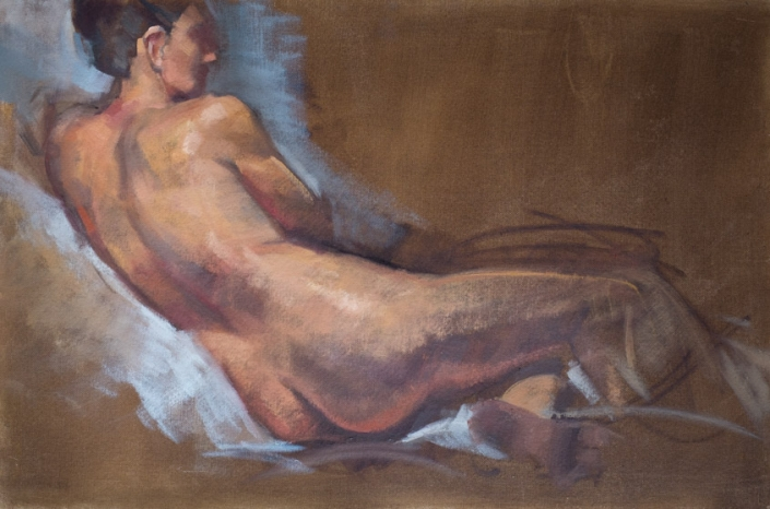Nude Reclining 2