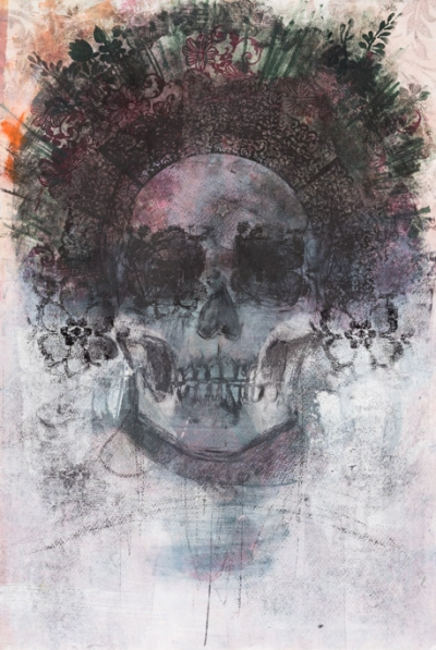 Dark Flowers - Fiona Wilson Fine Art Printmaking