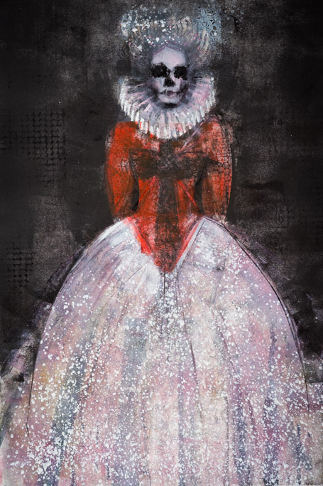 Gothic Queen - Fiona Wilson Fine Art Printmaking
