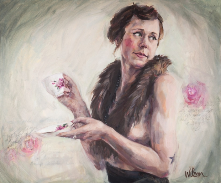 Portrait Commissions by Fiona Wilson