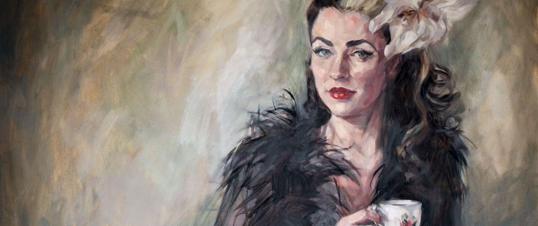 Portrait Commissions - Fiona Wilson Fine Art