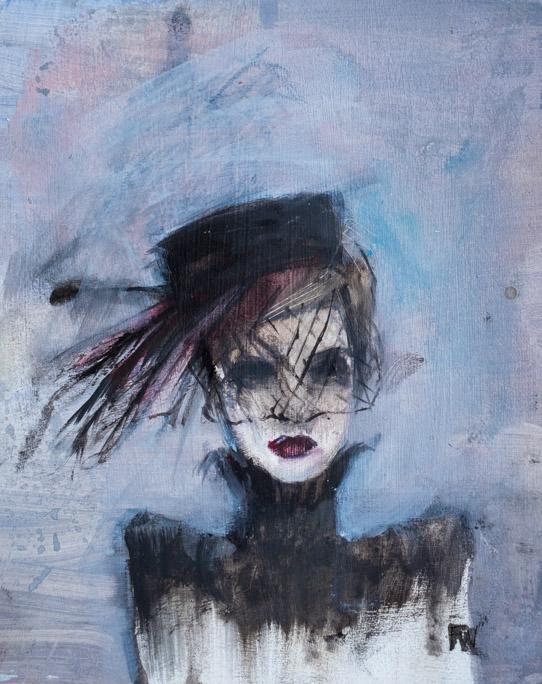 Mourning Hat - Fiona Wilson Fine Art