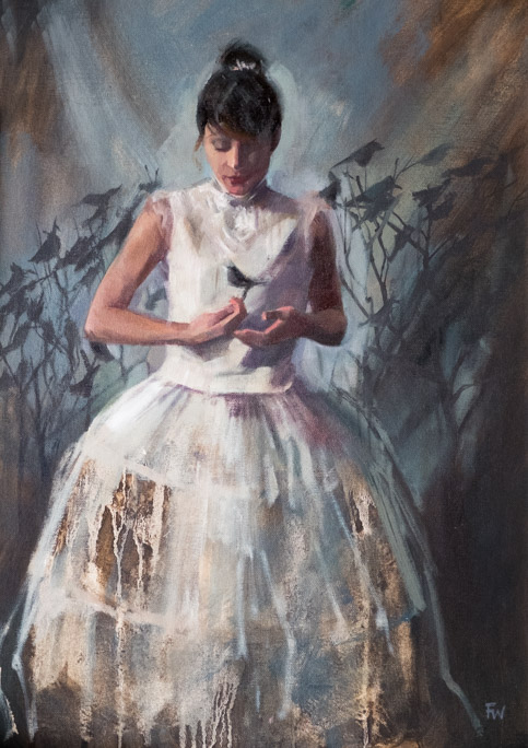 One in the Hand - Fiona Wilson Fine Art