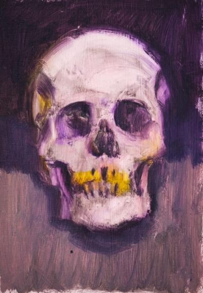 Purple Skull Study