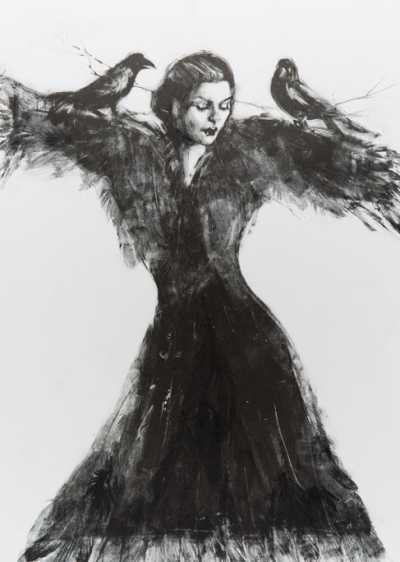 The Scarecrow - Fiona Wilson Fine Art Printmaking