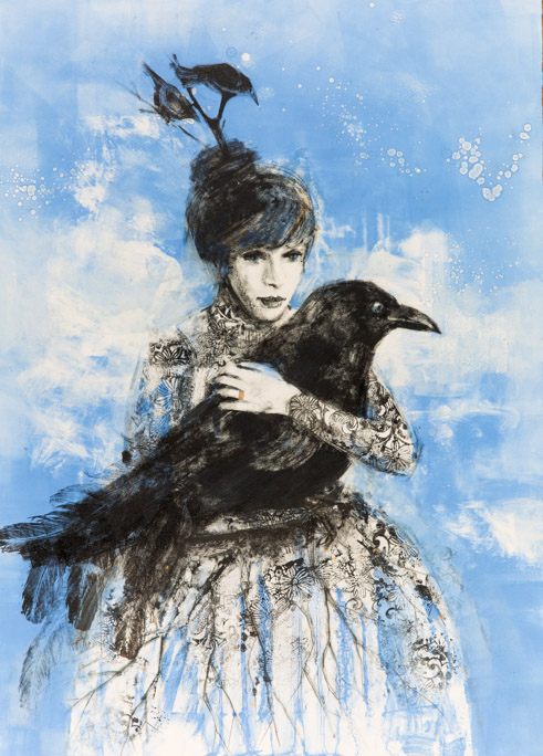The Crow Wife - Fiona Wilson Fine Art Printmaking
