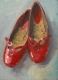 Red Shoes Study by Fiona Wilson Fine Art