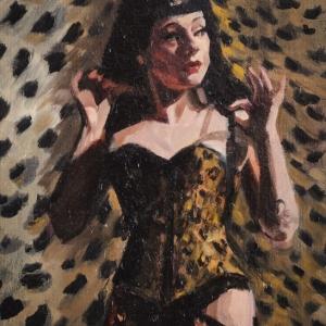 Fiona Wilson Art - Changing her Spots