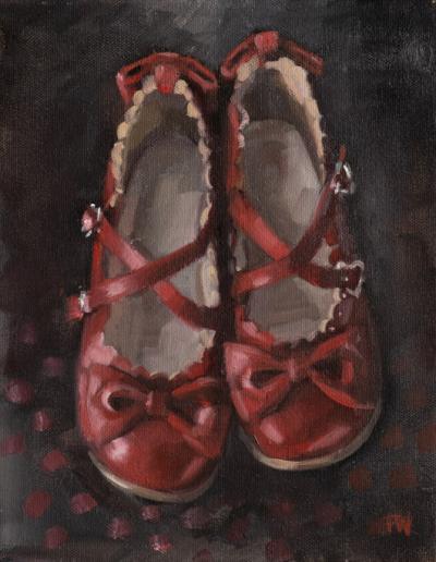 Oil Painting - Heartfelt Shoes