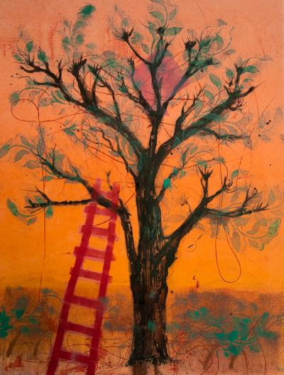 Fiona Wilson Art - The Kite Tree