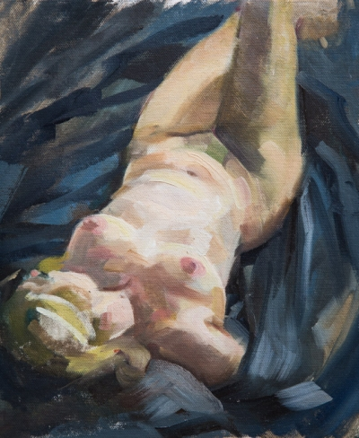 Fiona Wilson - Reclining Nude