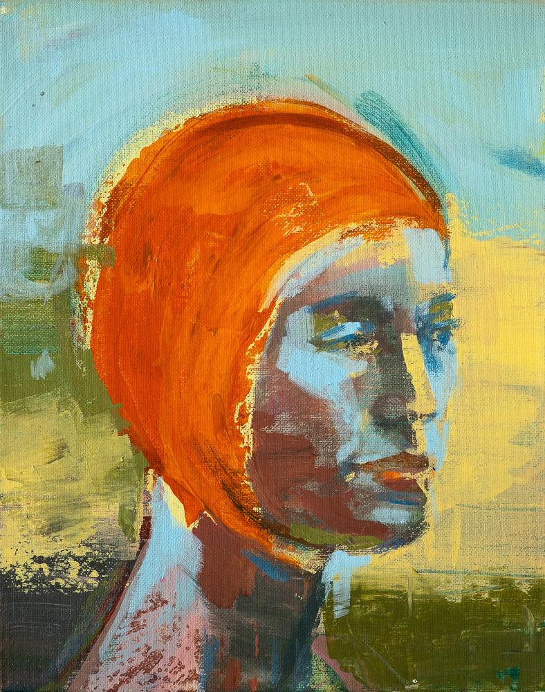 Marini - Swimcap Series by Fiona Wilson